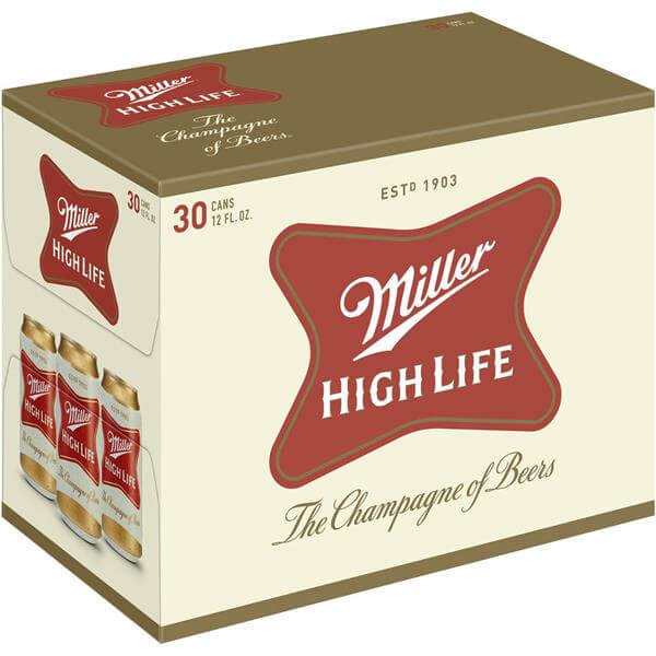 Miller High Life 30PKC