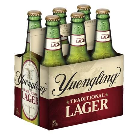 Yuengling Lager 6PKB