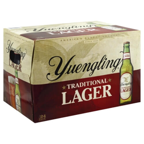Yuengling Lager 24PKB