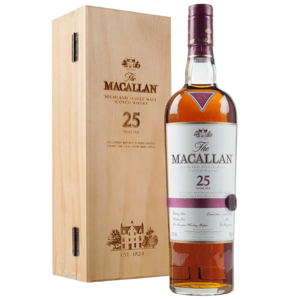 Macallan 25 Year Single Malt