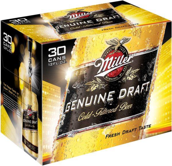 Miller Genuine Draft 30PKC