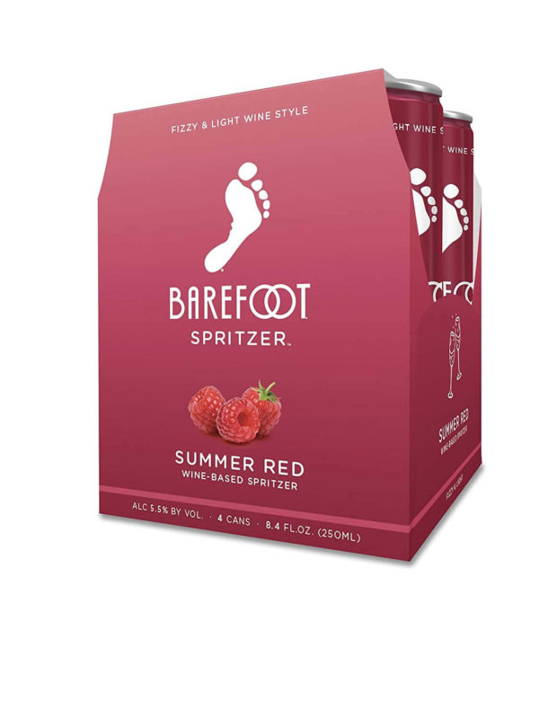 Barefoot Summer Red Spritzer 4PKC