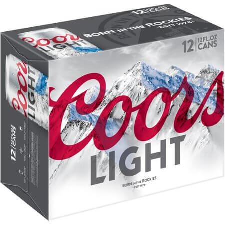 Coors Light 12PKC