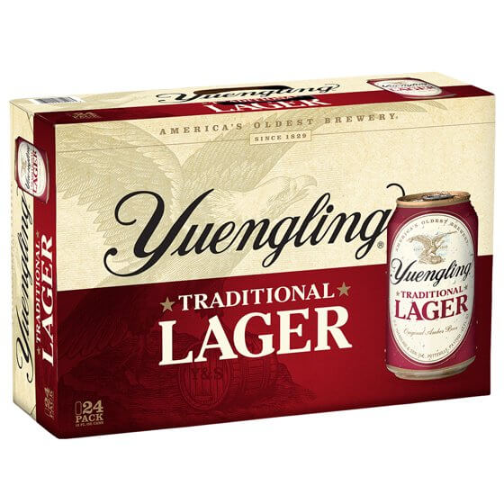 Yuengling Lager 24PKC
