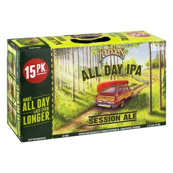 Founders All Day IPA 15PKC
